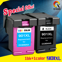CMYK SUPPLIES Compatible Ink Cartridge Replacement For HP 901 Hp 901XL Officejet 4500 J4500 J4540 J4550