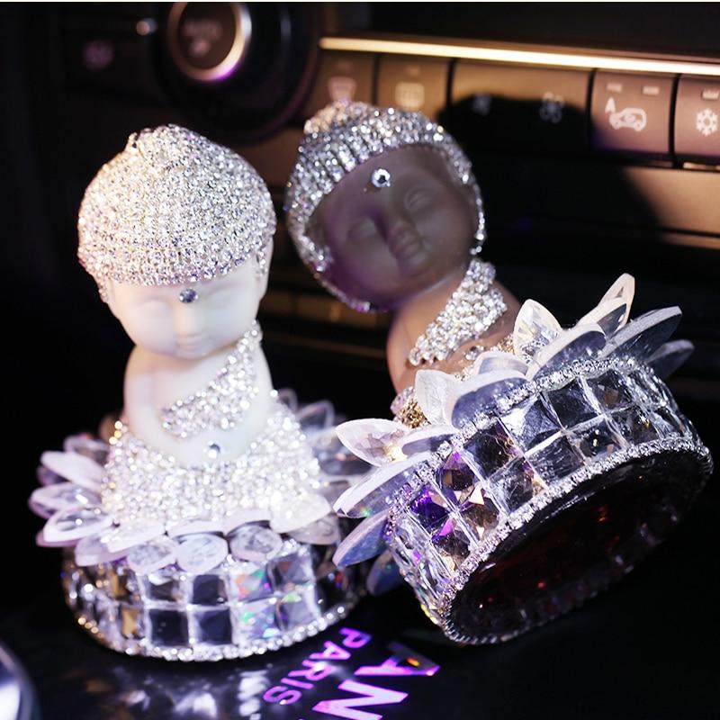 Buddha Upscale Car Seat Perfume Lovely Diamond Ornaments Formula - Ceramic Gift store