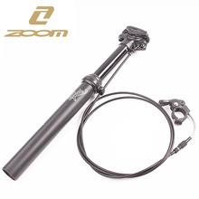 Zoom Dropper sztyca zewnętrzna Routing wysokość regulowana 100MM Travel MTB siodełko rowerowe post 30 9 31 6 385MM pilot rowerowy tanie tanio SMLLOW 250-400mm Stop 30 9-32 0mm