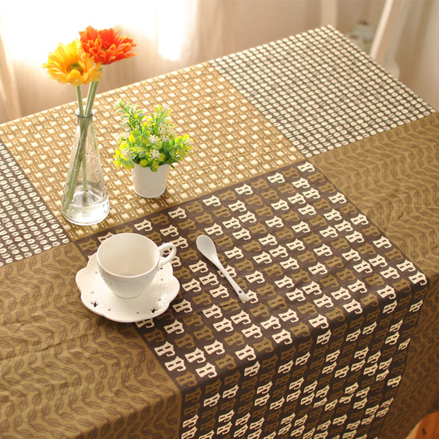 Linen Tablecloths Restaurant Bar Coffee Table Cloth Clothes Party Weeding Table  Cover For Home Wedding Decoration