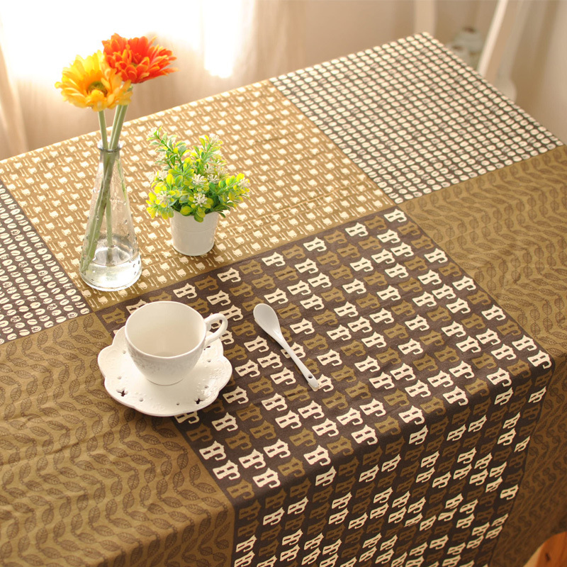 Zakka Japanese Linen Tablecloths Western Restaurant Bar Coffee Table Clothes Party Weeding Table Cover For Home Decoration