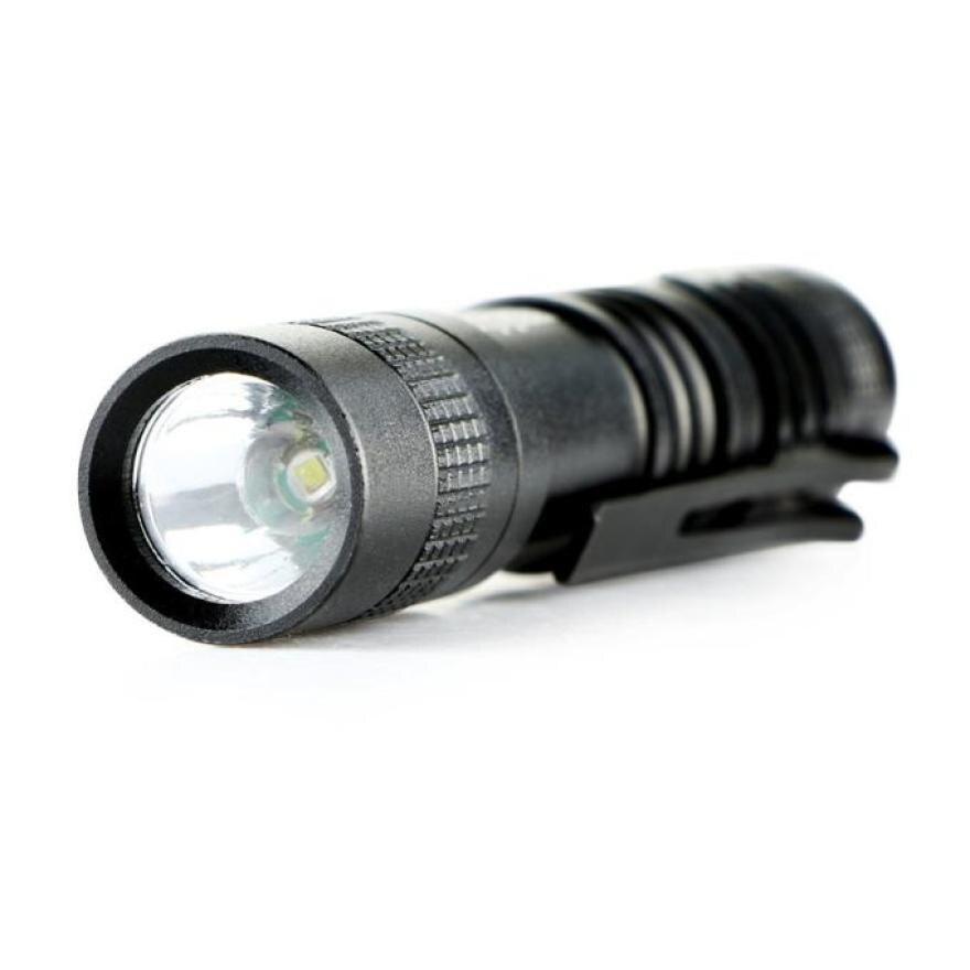 2017 NEW CREE XPE-R3 LED 1000 Lumens Lamp Clip Mini Penlight Flashlight Torch AAA S922