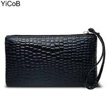 Handbags New Fashion Casual Women Bags Crocodile PU Leather Ladies Clutch Girls Handbag Bag Female Purse for Student