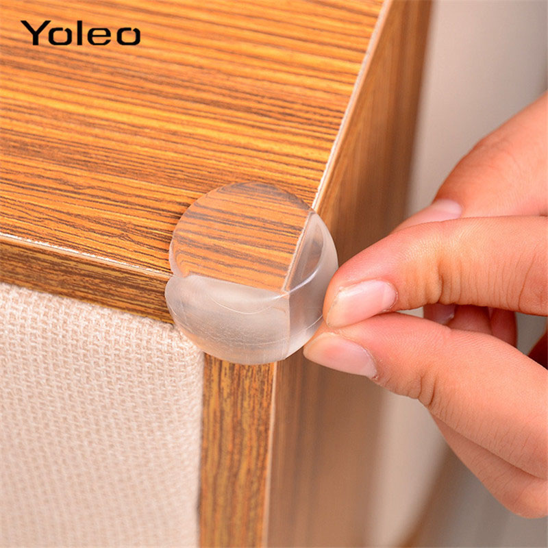 4/8pcs Baby Safety Edge Corner Protection Kids Silicone Table Corner Edge Protector Anticollision Edge Corner Protection Cover