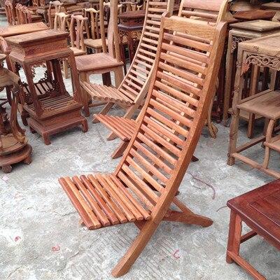 Feliz sillón balcón sillón reclinable birmana caoba palo de rosa de ...