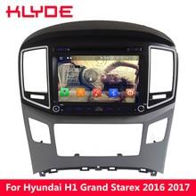 KLYDE 4G WI-FI Octa Core PX5 Android 8,0 4 Гб Оперативная память 32 GB Встроенная память Автомобильный мультимедийный DVD плеер радио для hyundai H1 grand starex 2016 2017