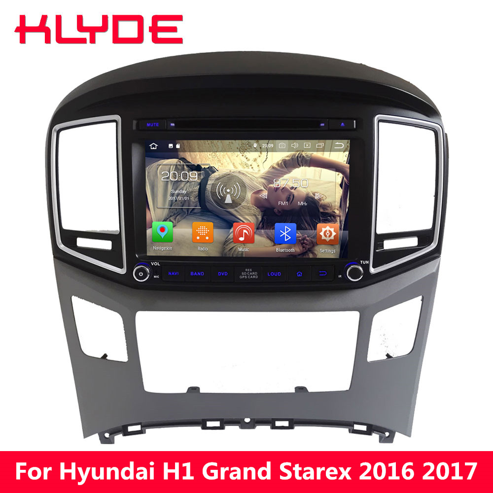 KLYDE 4g WIFI Octa Core PX5 Android 8.0 4 gb RAM 32 gb ROM Voiture DVD Lecteur Multimédia Radio pour Hyundai H1 Grand Starex 2016 2017