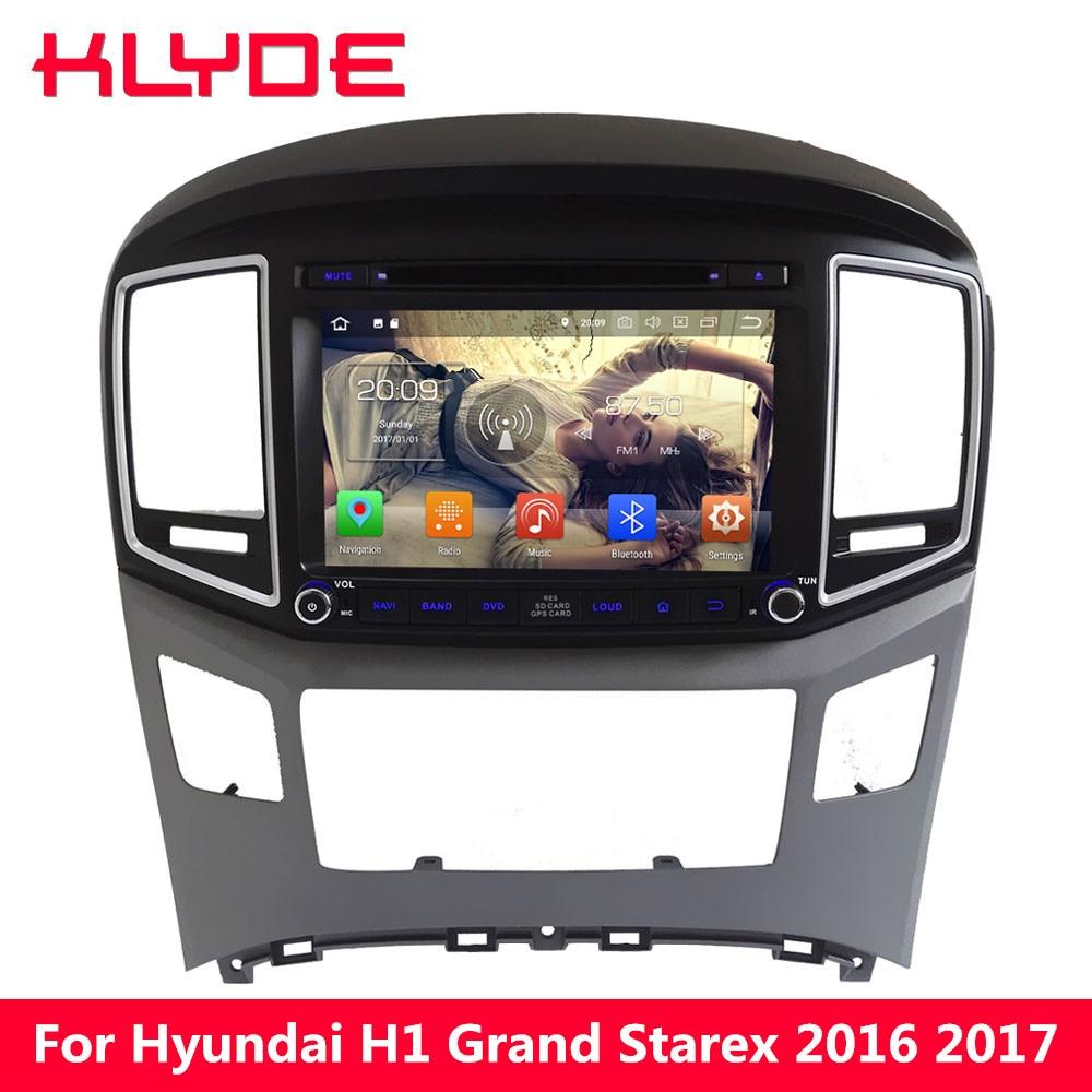 KLYDE 4g WIFI PX5 Octa Núcleo Android 8.0 gb RAM 32 4 gb ROM Carro DVD Player Multimídia Rádio para Hyundai H1 Starex grande 2016 2017