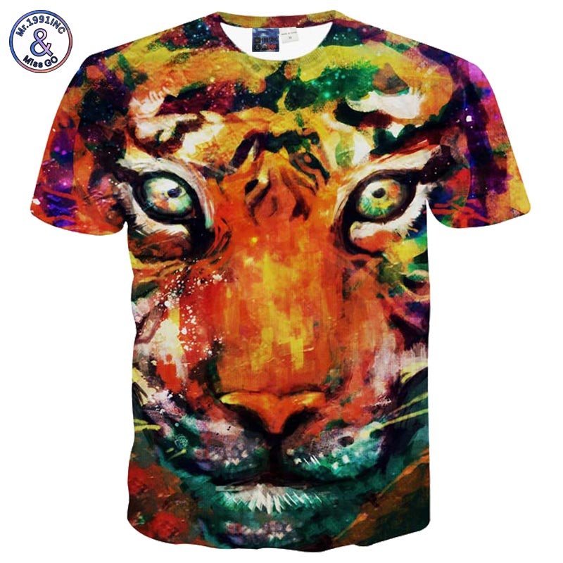 2017 Mr 1991INC Hot selling New style Animals print font b T shirt b font font