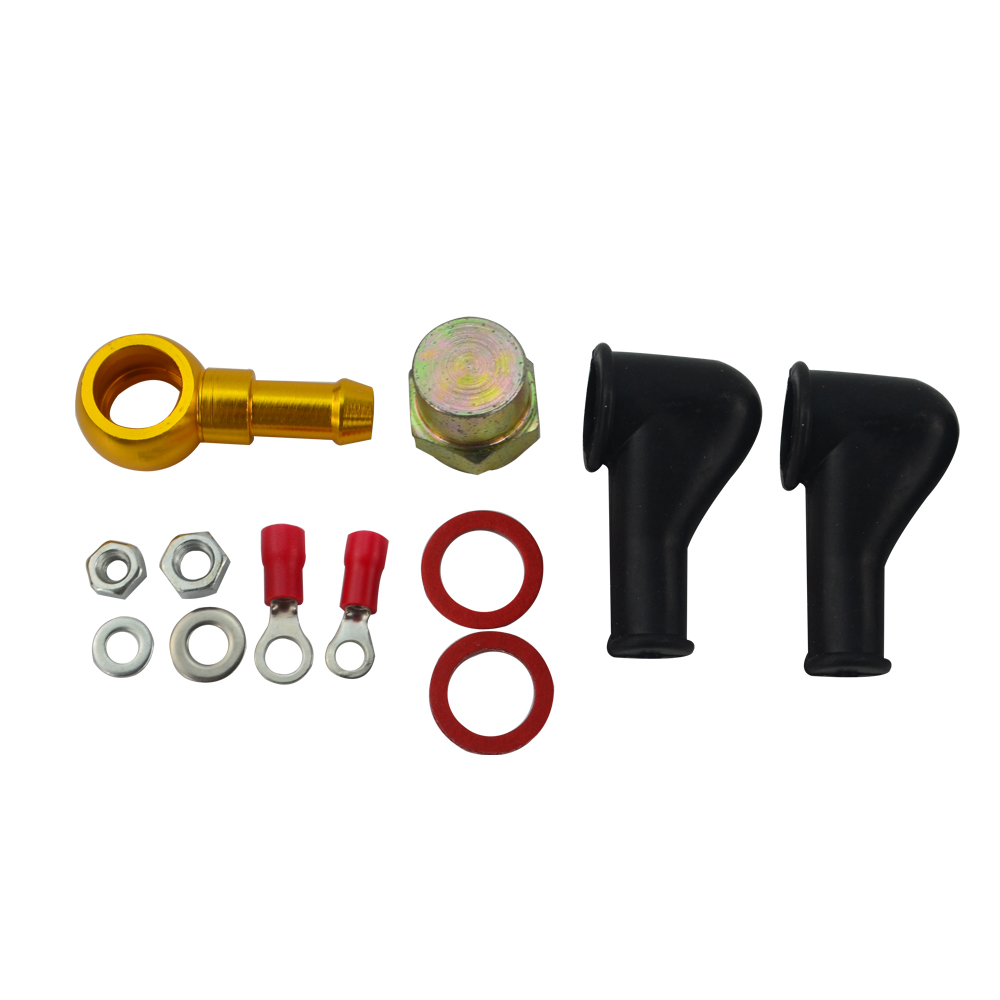 VR RACING - 044 BAHAN BAKAR BANJO FITTING KIT HOSE ADAPTER UNION 8 MM - Suku cadang mobil - Foto 5