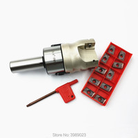 C3/4-FMB22 Titulaire Visage Mill Cutter 400R-50-22 Avec 10 Pcs APMT1604 Carbide /C19.05/C20
