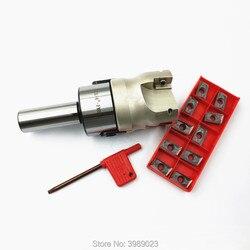 C3/4-FMB22 Titulaire Visage frezarka 400R-50-22 Avec 10 sztuk APMT1604 z węglików spiekanych/C19.05/C20