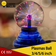 MACLOU NEW Novelty Magic Crystal Plasma Ball lava lamp Creative light Birthday Christmas Kids Room Decor Gift Box Lighting