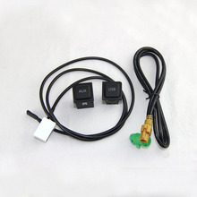 RCD510+310/315 AUX USB Switch with Wire Cable Fit For VW Golf MK6 5KD 035 726 A and L5KD 035 724 A car accessory