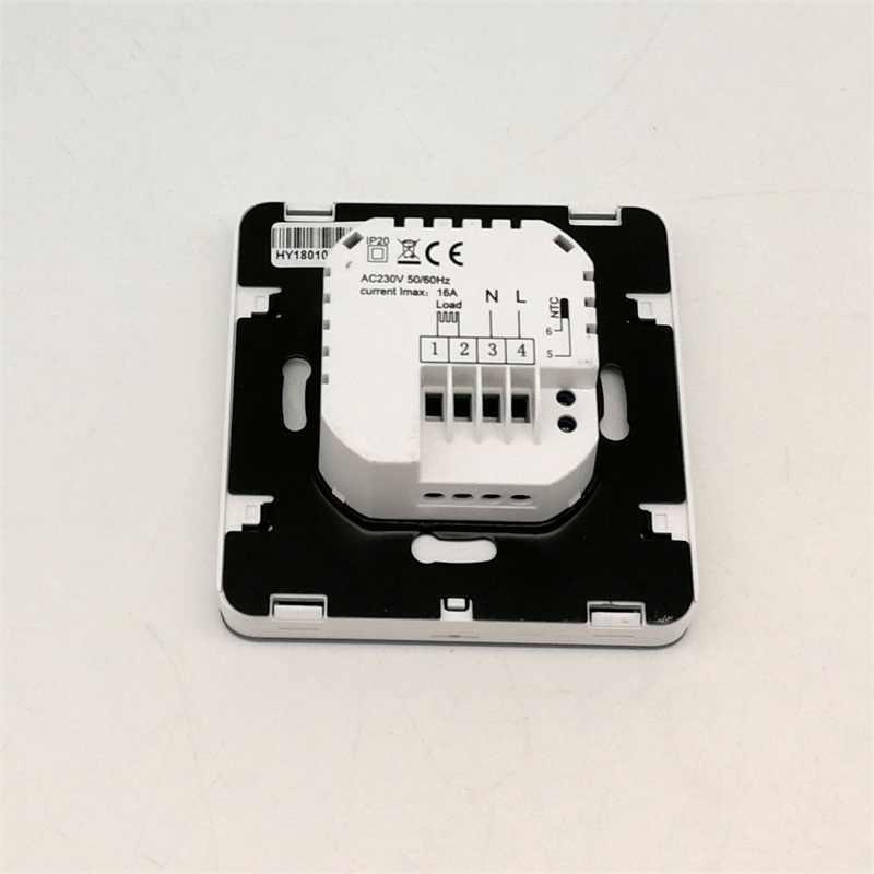 מגע מסך חדר טמפרטורת בקר 220V חדר טרמוסטט LCD Thermoregulator עבור רצפת חימום