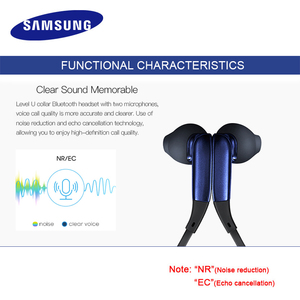Image 4 - SAMSUNG Level U In Ear Earphone Wireless Bluetooth headsets Collar Noise Cancelling Support A2DP,HSP,HFP for Glaxy 8 S8plus