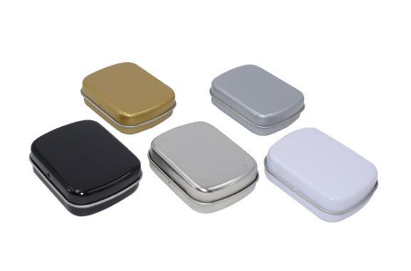 50 قطعة/الوحدة النعناع القصدير مربع هدية مربع والمجوهرات العلكة مربع صغير 60x50x15 ملليمتر-في صناديق وعلب تخزين من المنزل والحديقة على  مجموعة 1