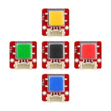 Elecrow 5pcs/lot Crowtail Button Module 2.0 for Electronic DIY Starter Kit 2X2CM Big Switch Botton Analog Module for Arduino цена