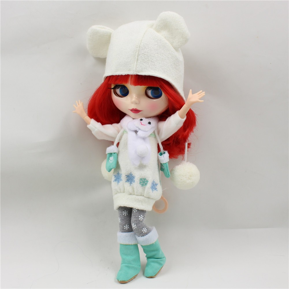 Neo Blythe Doll Winter Outfit Set 4
