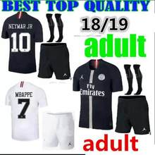 a16d41363 new 2018 2019 psg kit Paris CAVANI neymar jr shirts 18 19 adult kit psg  champions