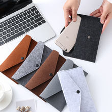 Men Wallet Women Purse Warm Cover Mobile Phone Case Card Bag Long Button Solid Simple Fashion Holder Clutch 20 Colors(China)