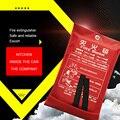 1 м х 1 м огнеупорное одеяло из стекловолокна огнеупорное качество аварийное спасательное огнеупорное укрытие Защитная крышка пожарное ава...