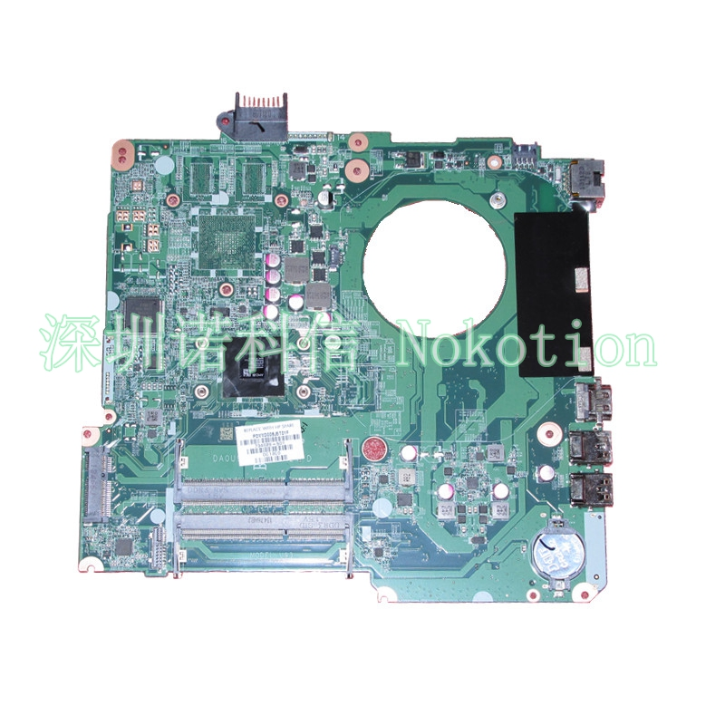 NOKOTION 734826-501 734826-001 DA0U93MB6D0 Laptop Motherboard A4-5000 CPU For hp 15 15Z 15-N Series original mainboard fit for hp pavilion 15 15 n series 734826 501 a4 5000 cpu laptop motherboard da0u93mb6d0