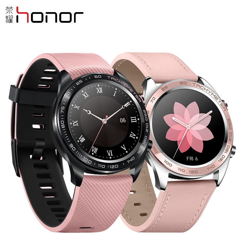 HONOR Ladies Watch Smart Watch Bracelet Fitness Tracker With Heart Rate Activity Tracking Sleep Monitoring Waterproof (pink)