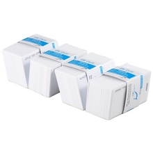 RFID 125KHz Thick card printable Proximity Door Control Entry Access EM Cards 100pc Set (White)