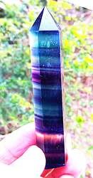 Идеально! натуральный кристалл кварца цвет флюорит Клык Цзянь Лин qi чакра натуральный камень и аксессуары для украшения дома