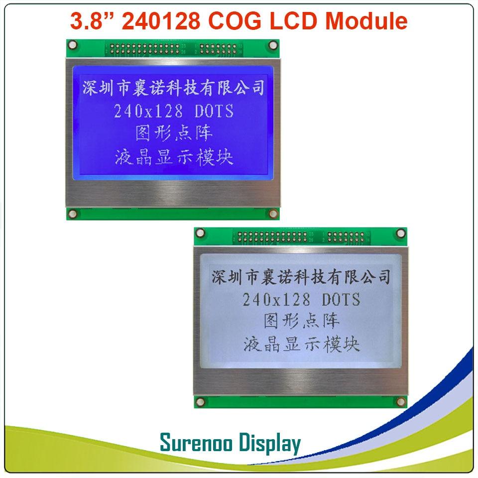 3,8 240128 240*128 Графический серийный SPI параллельный COG матричный ЖК модуль дисплей экран Встроенный контроллер UC1608
