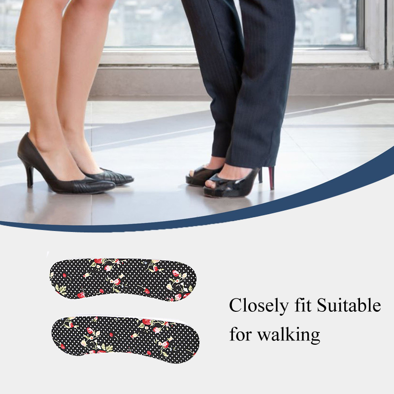 Tcare 1 пара Уход за ногами пятки захваты лайнер подушки вставки для сыпучих Обувь, обуви колодки для обуви слишком большой, улучшение обуви ко...