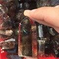 Venda quente! Ponto de cristal de quartzo esfumaçado natural da varinha do ponto de cristal de quartzo esfumaçado
