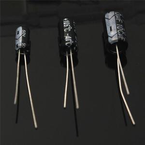Image 4 - Newest High Quality 15values 200pcs Electrolytic Capacitor Organization Storage 0.1 220uF Capacitors Assortment Box Kit