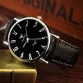 YAZOLE 2017 Quartz Watch Men Watches Top Brand Luxury Famous Leather Strap Wrist Watch Male Clock Relog Hodinky Panske Ceasuri