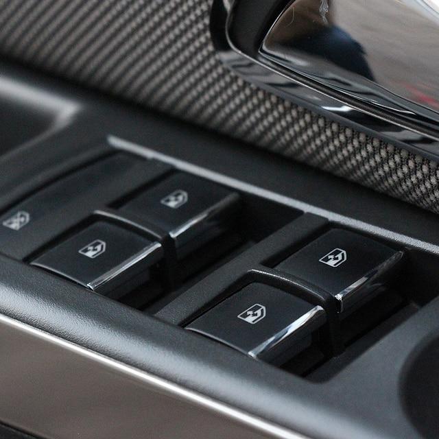 Chevrolet Cruze 2009 용 도어 윈도우 스위치 리프트 버튼 커버 트림 2010 2014/Malibu 2012 2013 2014 Opel Mokka Insignia 용