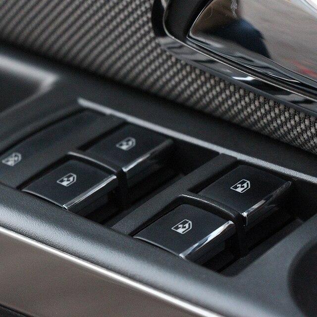 דלת חלון מתג מעלית כפתור כיסוי Trim עבור שברולט Cruze 2009 2010 2014/מאליבו 2012 2013 2014 עבור אופל Mokka Insignia