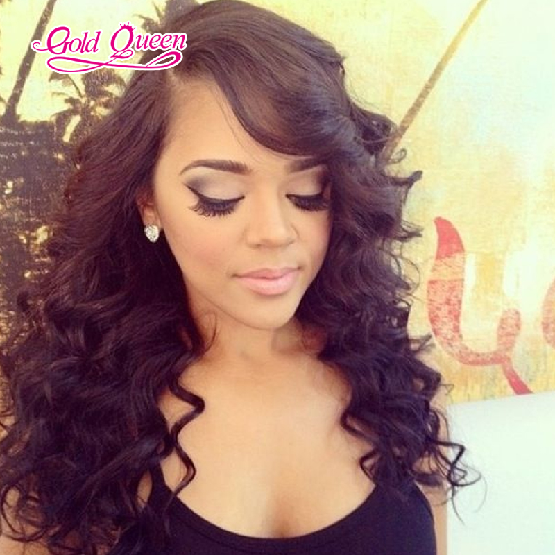 130% Density Unprocessed Virgin Peruvian Full Lace Wig /Lace Front Wig Body Wave Glueless Full Lace Human Hair Wigs