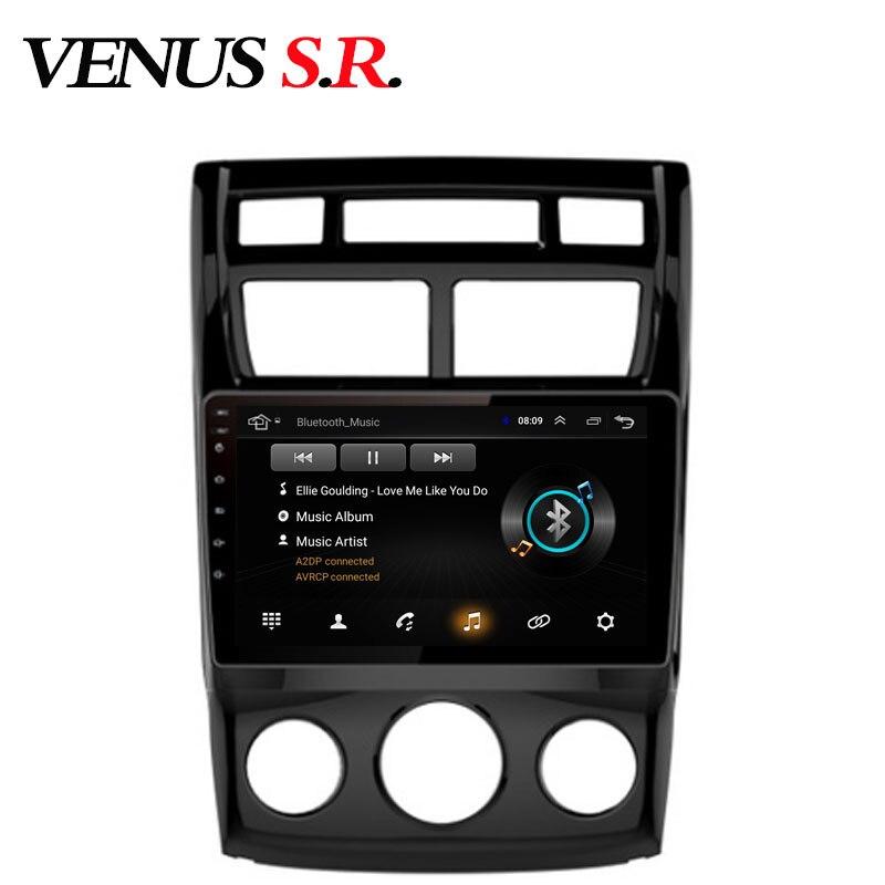 VenusSR Android 8.1 2.5D dvd de voiture pour KIA Sportage radio 2009-2016 multimédia headunit GPS navigation