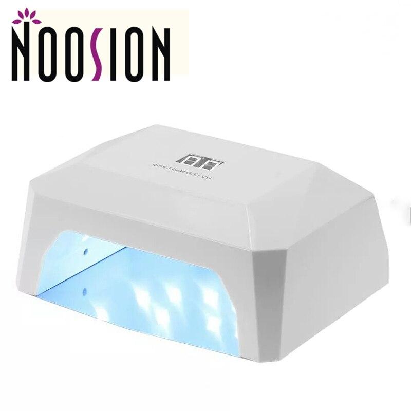 Noosion diamond светодиодные УФ-лампы для ногтей 36 Вт цифровой Дисплей Двойной УФ для всех Гель-лак <font><b>LED</b></font> Smart Сушилка для ногтей машина лампе УФ <font><b>Ongle</b></font>