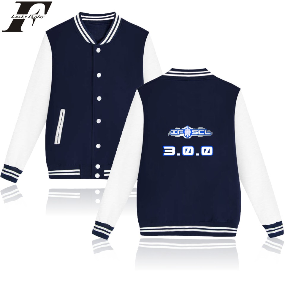 2017 hit hop Code Lyoko Cartoon Baseball jacket tracksuit bomber jacket men women basic coats Buttons tumblr Sweatshirt 4xl