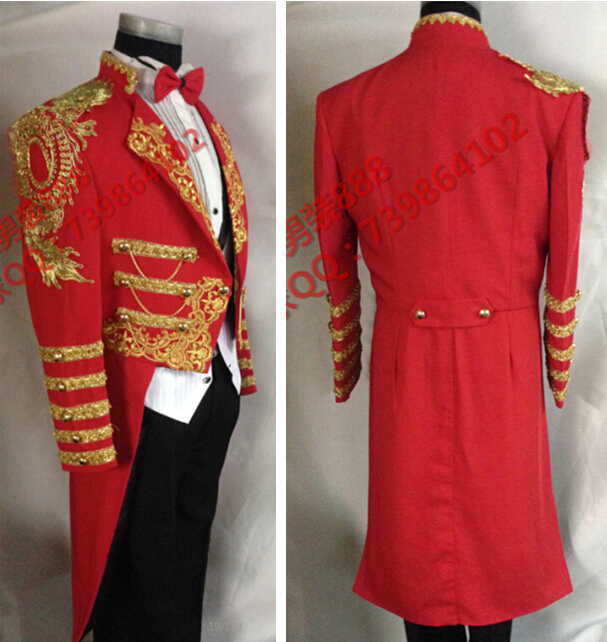 Red Gold Tuxedo Promotion-Shop for Promotional Red Gold Tuxedo on