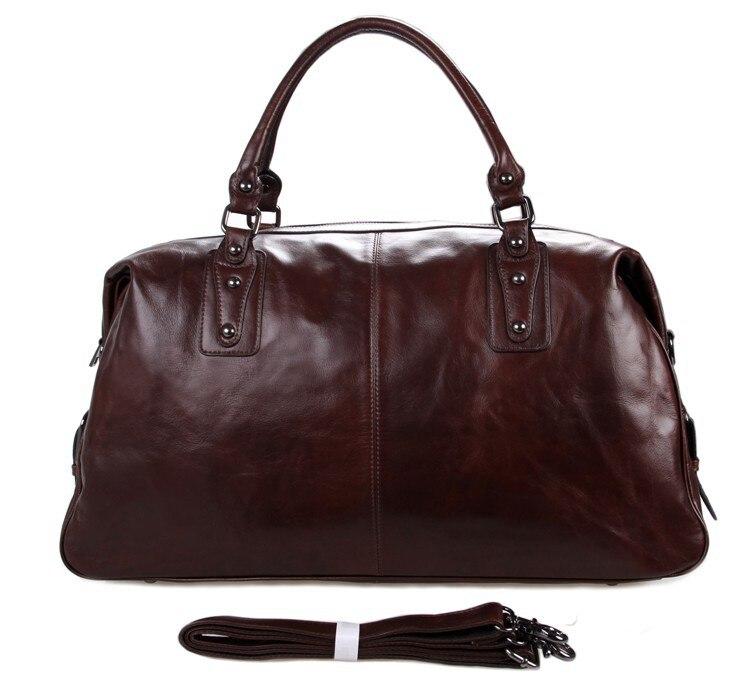 7071LC Guaranteed 100% Genuine leather Men Bags Tote bag Men's Travel Bags Business Laptop Handbags guaranteed 100