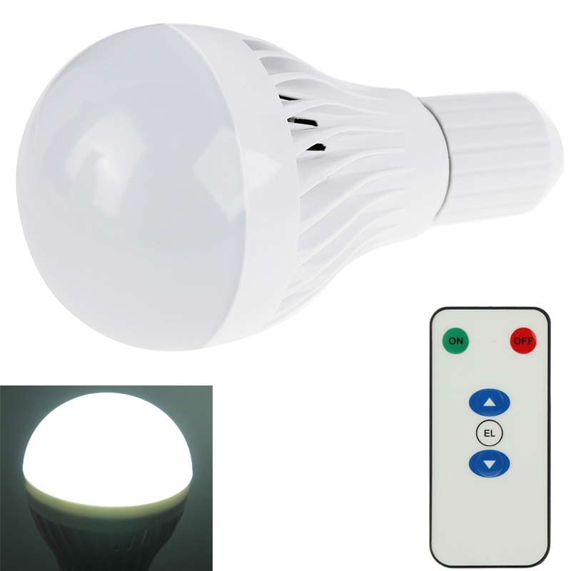 5w 7w Rechargeable Led Emergency Bulb Light E26 E27