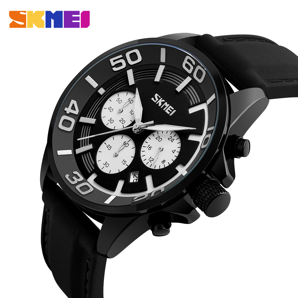 New SKMEI Watches Men Luxury Brand Men's Quartz Watch Clock Man Date Silicone Sports Army Military Wrist Watch Relogio Masculino h shaped zinc alloy diamond earrings for wonen black golden multi colored
