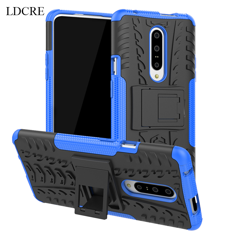 For OnePlus 7 Case 6.5 Heavy Duty Hard Rubber Silicone Coque Fundas Phone Cover for case
