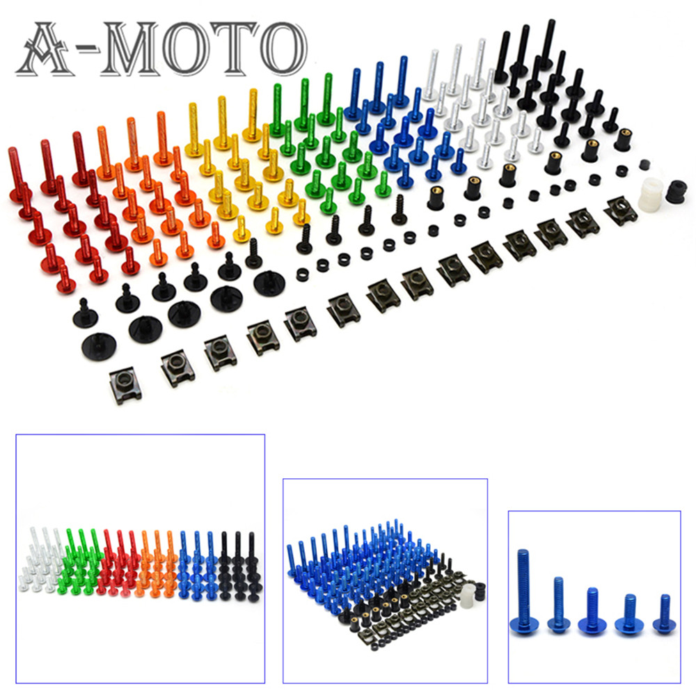 A set of motorcycle accessories custom fairing screw bolt windscreen screw FOR Suzuki SV650 SV650S SV 650 650S KTM1190 125 Duke