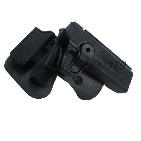 Image 3 - 1911 Holster Tactical Army CQC IMI Colt 1911 Holster Airsoft Military Paddle Pistol Gun Holster Hunting Gun Case Accessories-in Holsters from Sports & Entertainment