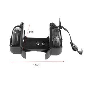 Image 5 - Children Wheel Heel Roller Light Adjustable Skates Kid Falsh Blade Shoe Strap  selling