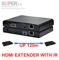 LKV373IR HDMI Extender over Cat5e/6 with IR(HDMI extender over lan) up to 120M HDMI extension HDMI BOX AUDIO video adapter